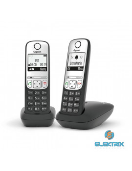 Gigaset A690 DUO fekete dect telefon