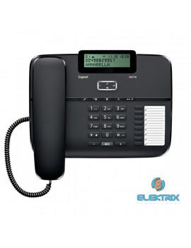 Gigaset DA710 fekete asztali telefon
