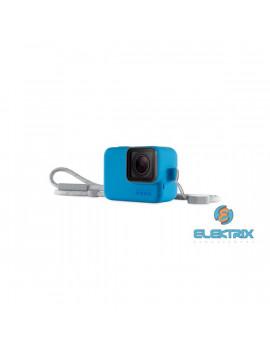 GoPro AJSST-003 Sleeve + Lanyard HERO 8 Black kék szilikon tok és pánt