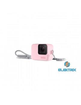 GoPro AJSST-007 Sleeve + Lanyard HERO 8 Black rózsaszín szilikon tok és pánt