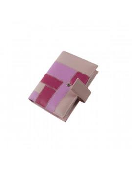 Realsystem 2021-es 3/191 S műbőr rózsaszín gyűrűs kalendárium