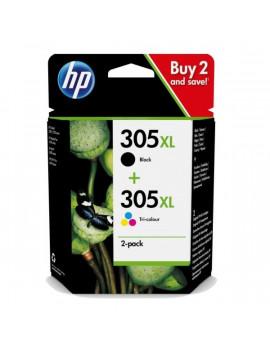 HP 6ZA94AE (305XL) fekete és háromszínű nagykapacítású tintapatron csomag