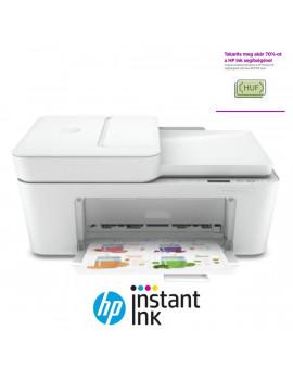 HP DeskJet Plus 4120E tintasugaras multifunkciós Instant Ink ready nyomtató
