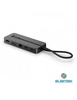 HP Spectre USB-C/USB 3.0/USB 2.0/Ethernet/VGA/HDMI hordozható dokkoló