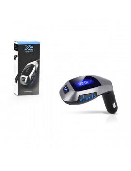 Haffner PT-4989 X5 Bluetooth telefon kihangosító és FM transzmitter