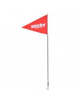 Hecht 0054700 piros quad zászló