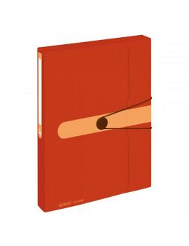 Herlitz Easy PP újrafelhasznált műanyag narancssárga füzetbox