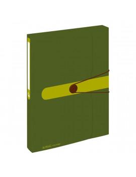 Herlitz Easy PP újrafelhasznált műanyag zöld füzetbox