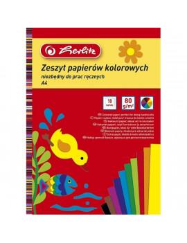 Herlitz A4 10 lap fényes kivágópapír