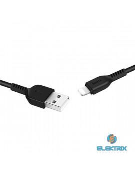 Hoco HOC0054 X20 1m fekete Lightning USB kábel