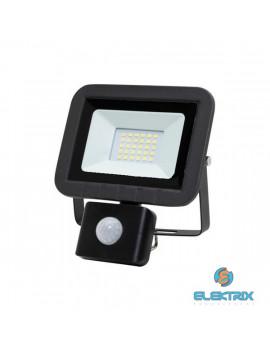 Home FLP 20 SMD 20 W lapos szürke LED reflektor mozgásérzékelővel
