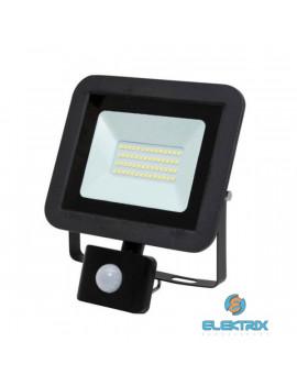 Home FLP 30 SMD 30 W lapos szürke LED reflektor mozgásérzékelővel