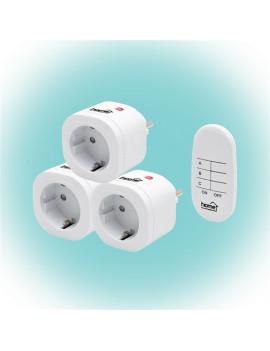 Home TH 3013 távirányítható hálózati aljzat szett távirányítóval