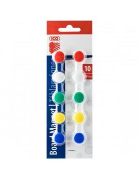 ICO 15mm 10db 5 féle színű táblamágnes