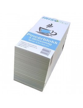 IRISOffice 7x15x3cm 3db/csomag pincérblokk