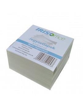 IRISOffice 8,5x8,5x5cm ragasztás nélküli kockatömb