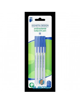 ICO Signetta Design antibakteriális 4db-os golyóstoll