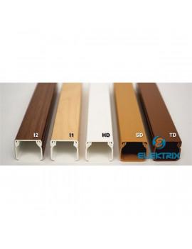 KOPOS LHD 40X40 2m világos barna minicsatorna