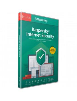 Kaspersky Internet Security hosszabbítás HUN  3 Felhasználó 1 év dobozos vírusirtó szoftver