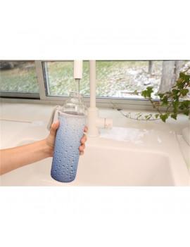 Kikkerland CU245 víz mintás tokban újratölthető vizespalack