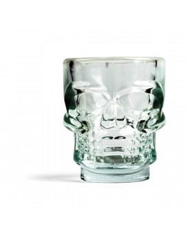 Kikkerland GL06 S/4 csontvázkoponya üveg felespohár szett