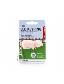 Kikkerland KRL03-CDU-EU hanggal malac LED-es kulcstartó
