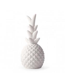 Kikkerland LT14-EU ananász porcelán lámpa