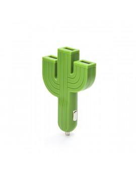 Kikkerland US132-EU 3 USB-s kaktusz alakú autós töltő