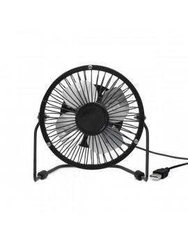 Kikkerland US143-BK-EU USB-s fekete asztali ventilátor