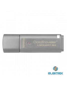Kingston 128GB USB3.0 Ezüst (DTLPG3/128GB) Automatic Data Security Flash Drive