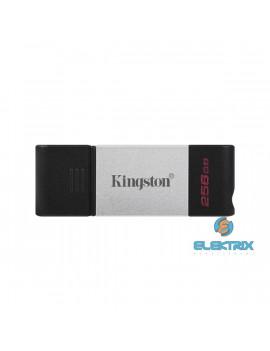 Kingston 256GB USB3.2 C DataTraveler 80 (DT80/256GB) Flash Drive