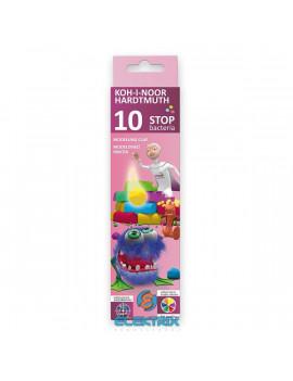 Koh-I-Noor 131810 10 színű antibakteriális gyurma