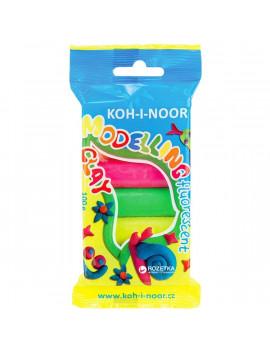 Koh-I-Noor 5 színű neon gyurma