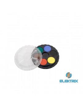 Koh-I-Noor kerek 6 színű vízfesték készlet