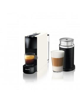 Krups XN111110 Nespresso Essenza Mini & Aeroccino 19 bar fehér kapszulás kávéfőző