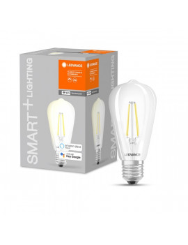 Ledvance Smart+ Wifi vezérelt 5,5W 2700K E27 LED Edison, dimmelhető filament LED fényforrás