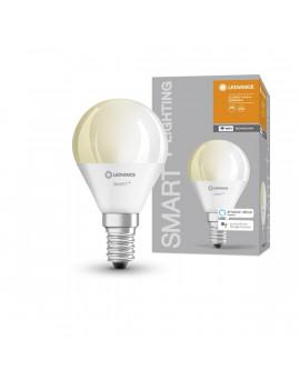 Ledvance Smart+ Wifi vezérlésű 5W 2700K E14 dimmelhető kisgömb LED fényforrás
