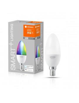 Ledvance Smart+ Wifi vezérlésű 5W RGBW E14 dimmelhető gyertya LED fényforrás