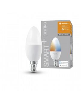 Ledvance Smart+ Wifi vezérlésű 5W állítható színhőmérsékletű E14 dimmelhető gyertya LED fényforrás