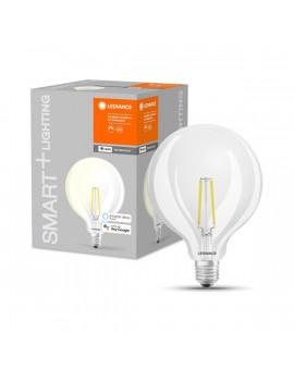 Ledvance Smart+ Wifi vezérlésű 5,5W 2700K E27 dimmelhető filament nagygömb LED fényforrás
