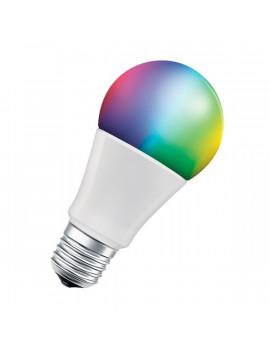 Ledvance Smart+ Wifi vezérlésű 9W RGBW E27 dimmelhető körte LED fényforrás