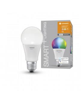 Ledvance Smart+ Wifi vezérlésű 9,5W RGBW E27 dimmelhető körte LED fényforrás