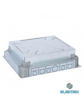 Legrand 088091 Süllyesztett doboz betonba, állítható magasságú, 65-90mm betonba, 12/18 modulos padlódobozhoz