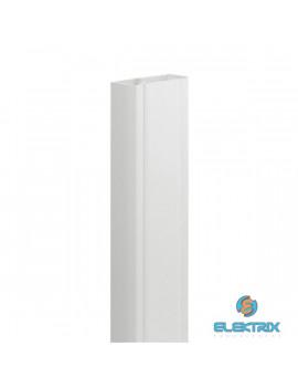 Legrand DLP 2m Univerzális kábelcsatorna, 80x50 mm, 65 mm-es hajlékony fedéllel, válaszfal nélkül, fehér