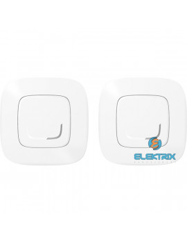 Legrand 752552 Valena Allure Netatmo fehér Párosított szett: 1 intelligens kapcsoló + 1 vezeték nélküli kapcsoló