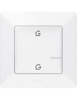 Legrand 752186 Valena Life Netatmo fehér intelligens Vezeték nélküli főkapcsoló - Érkezés/Távozás funkcióval