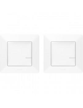 Legrand 752152 Valena Life Netatmo fehér Párosított szett: 1 intelligens kapcsoló + 1 vezeték nélküli kapcsoló