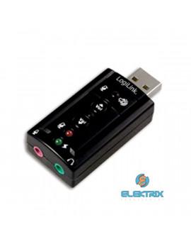 LogiLink UA0078 USB 2.0 külső hangkártya 7.1 csatornás