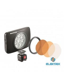 Manfrotto Lumimuse kiegészítők fekete színben/8 led lámpa