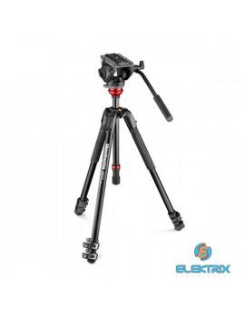 Manfrotto MVH500AH lapos alappal/190X fluid fejjel alumínium video tripod